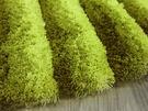范登伯格 彩之舞 漸層條紋厚蓬地毯-綠19-60x90cm