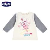 chicco-To Be BG-愛心魔法棒拼接長袖上衣