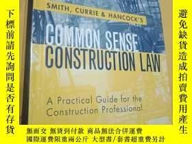 二手書博民逛書店COMMON罕見SENSE CONSTRUCTION LAW:C