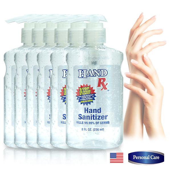 美國HAND RX快速乾洗手凝露236ml六入