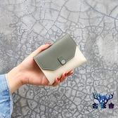 【買一送一】小錢包短款折疊簡約時尚女士卡包迷你錢包【古怪舍】