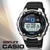 CASIO手錶專賣店 卡西歐  AE-2000W-1A 男錶 電子錶 數位 防水200米 LED照明 橡膠錶帶