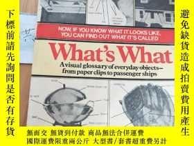 二手書博民逛書店What s罕見What A Visual Glossary of the Physical WorldY15