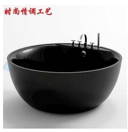 推薦進口雙層亞克力圓形獨立浴缸大尺寸雙人酒店時尚浴盆澡盆 8號店WJ