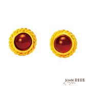 J'code真愛密碼-微光 黃金耳環
