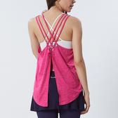 編織美背無袖罩衫TA724(商品不含內搭及配件)-百貨專櫃品牌 TOUCH AERO 瑜珈服有氧服韻律服