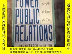 二手書博民逛書店Power罕見Public Relations: How to