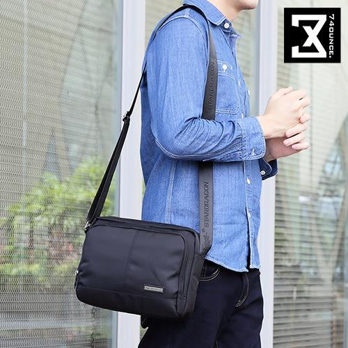 74盎司 側背包 商務輕便尼龍雙層側背包[G-844]