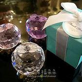 婚禮小物 歐美同步流行-Tiffany經典藍水晶蘋果禮盒-姊妹禮/伴娘禮/活動禮/來店禮/贈品 幸福朵朵