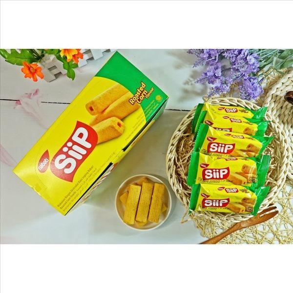 瑞奇金磚玉米棒-烤玉米原味 110g(20入)【2019070400030】(印尼零食)