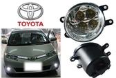 【吉特汽車百貨】豐田專用型 LED霧燈 6500K超白光 日型燈 WISH ALTIS VIOS RAV4 YARIS
