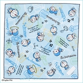 asdfkitty可愛家☆哆啦A夢竹蜻蜓桌墊/餐墊/桌巾/大手帕-43*43公分-防止兒童弄髒桌子-日本製