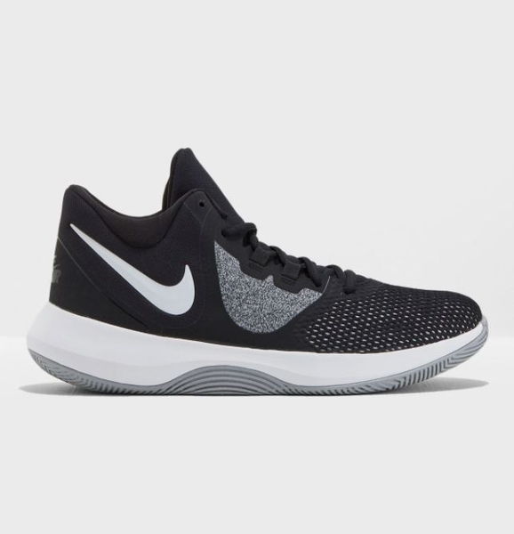 NIKE系列-Air Precision 2 男款黑白色運動籃球鞋-NO.AA7069001