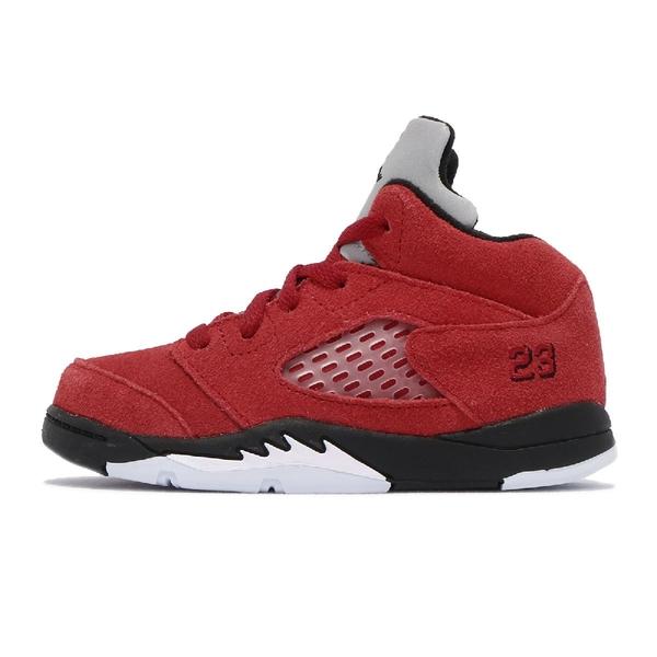 Nike 童鞋 Air Jordan 5 Raging Bull 喬丹 小童鞋 AJ5 籃球鞋 【ACS】 440890-600
