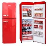 可申請退稅1200 聲寶 SAMPO  210L SR-C21D(R) 歐風美型雙門冰箱