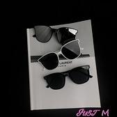 眼鏡韓國復古太陽鏡女潮街拍墨鏡男素顏神器眼鏡網紅抖音墨鏡 JUST M
