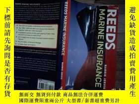 二手書博民逛書店REEDS罕見MARINE INSURANCEY206421