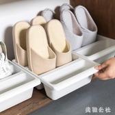 2個裝簡約立式鞋架3格收納鞋托鞋子收納盒節省空間鞋柜整理架CC1855『美鞋公社』