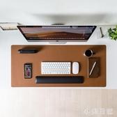日本超大滑鼠墊皮質桌墊辦公家用書桌墊子大尺寸防滑易清潔 KV6516 『小美日記』