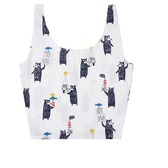可愛 森林系 彩繪 手提包 帆布袋 單肩包 購物袋--手提/單肩
