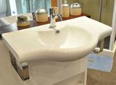 【麗室衛浴】國產 80CM臉盆+白鐵造型鐵架+INAX軸心單槍龍頭 特價出清