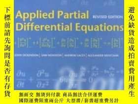 二手書博民逛書店Applied罕見Partial Differential EquationsY364682 Ockendon