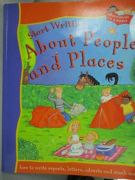 【書寶二手書T1/語言學習_YHS】Start Writing about People and Places_Penny King, Ruth Thomson