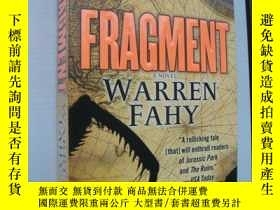 二手書博民逛書店FRAGMENT罕見(碎片)Y85718 WARREN FAHY