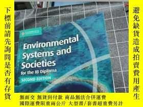 二手書博民逛書店Environmental罕見Systems and Societies for the IB Diploma C