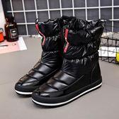 雪靴    2018冬季新款韩版学生加绒棉鞋加厚防水保暖短靴