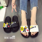 [Here Shoes]涼拖鞋-街頭潮鞋...