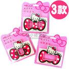 〔小禮堂〕Hello Kitty 橫式插座開關裝飾板《3種選1.桃紅.點點大蝴蝶結》輕鬆DIY佈置居家8021045-000__a