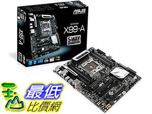 [美國直購 二手良品主機板] 主板 ASUS X99-A ATX DDR4 3000 LGA Motherboard X99-A