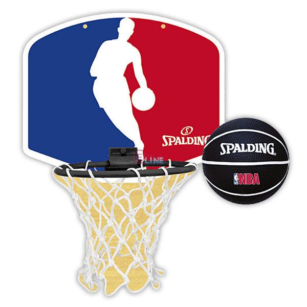 【SPALDING】斯伯丁 NBA 標誌 Logo Jerry West 小籃板組 NBA籃球 - SPA77602