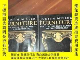 二手書博民逛書店英文原版罕見Furniture JUDITH MILLER WO