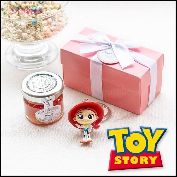 Double Love Pink盒 玩具總動員鑰匙圈+果醬小禮盒 婚禮小物 生日分享 遊戲抽獎 Tiptree