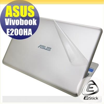 【Ezstick】ASUS E200HA 專用 二代透氣機身保護貼(上蓋、鍵盤週圍及底部 3片式)DIY 包膜