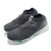 New Balance 慢跑鞋 Fresh Foam Zante 灰 綠 女鞋 輕量緩震跑鞋 【ACS】 WZANSLND