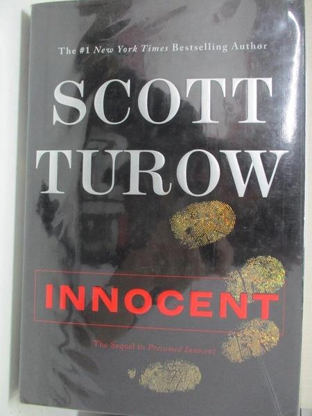 【書寶二手書T5/原文小說_EQ4】Innocent_Turow, Scott
