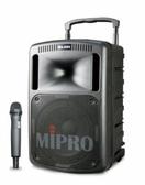 MIPRO MA-808 130W旗艦型攜帶式無線擴音機  配2無線麥克風CD.mp3.SD卡.USB 專業擴音機