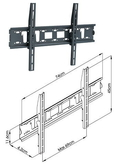 音響器材批發中心 CMW-410 LED 電視壁掛吊架 LCD 液晶 電漿 、天吊型吊架