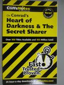 【書寶二手書T2/原文小說_GJG】Cliffsnotes Conrad's Heart of Darkness & t