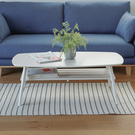 和室桌 茶几桌 茶几 桌 矮桌【Y0017】千崎日系茶几(水洗白色) 完美主義