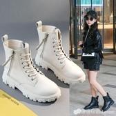女童馬丁靴年新款時尚網紅兒童短靴洋氣百搭加絨女童靴子棉靴 雙十二全館免運