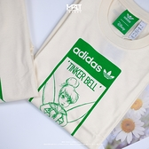 IMPACT Adidas x Disney 短T 白 綠 迪士尼 奇妙仙子 楊冪著用款 GP3392
