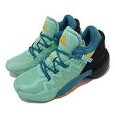 adidas 籃球鞋 D.O.N. Issue 2 J 藍綠 黃 塗鴉 米歇爾 女鞋 大童鞋 【ACS】 S42751