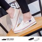 [Here Shoes]女款 情侶鞋 校...