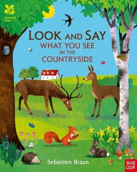 『線上聽.手上讀』LOOK AND SAY WHAT YOU SEE IN THE COUNTRYSIDE/英文繪本