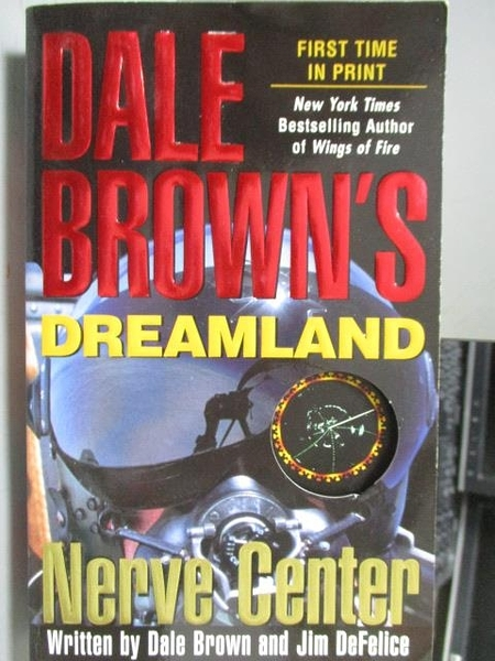 【書寶二手書T5/原文小說_ORF】Dale Brown s Dreamland_Nerve Center