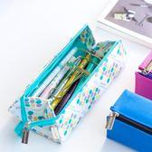 國譽對開式帆布筆袋多功能大容量男女學生文具筆盒鉛筆收納包 k-shoes